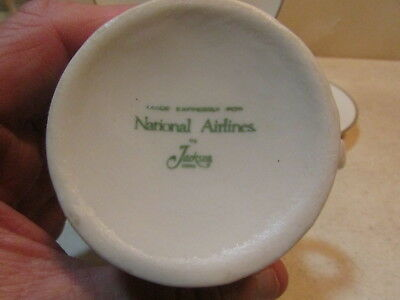 Vintage National Airlines Plate, Sandwich Plate, Cup & Saucer