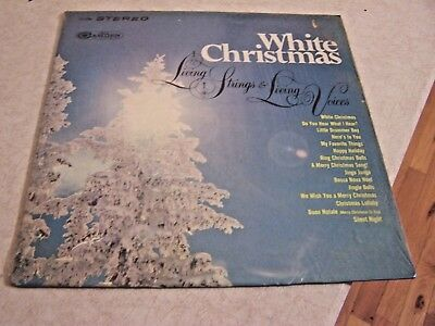 "Living Strings & Living Voices ""White Christmas"" RCA CAMDEN CAS-2258 LP W/SHRINK"