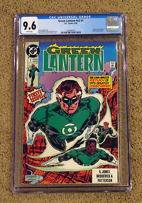 Green Lantern 1  1990 - CGC 9.6 NM+ White Pages