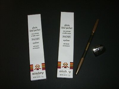 "3 x SISLEY phyto khol perfect eyeliner ""deep jungle""  NEU + OVP"