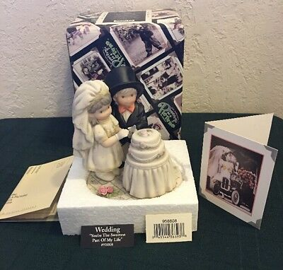 Kim Anderson Your The Sweetest Part Of My Life NEW RARE Wedding Cake Topper 2001