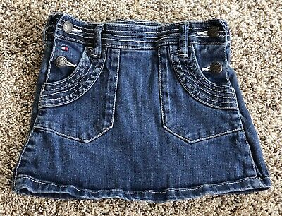 Girls 3T TOMMY HILFIGER Jean Skirt PERFECT Confition