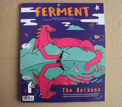 Ferment magazine issue 31 - August 2018