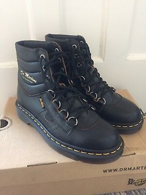 bd4f88acc28 *RARE* DR MARTENS Ladies Black ARCHIVE KAMIN HIKING BOOTS size uk 5 euro 38