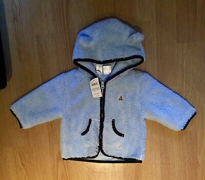 Brand New With Tags Baby Boys Gap Fleece Jumper / Jacket. Aged 6-12 Months