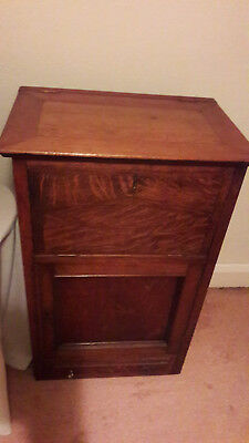 Vintage Oak Bureau, Very Old, Reasonable Condition
