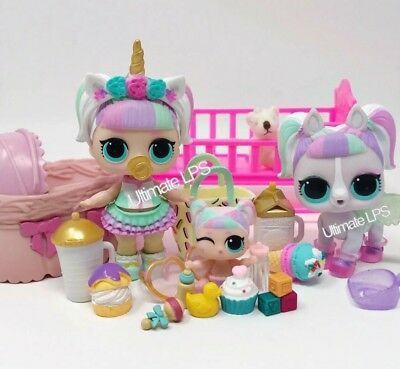LOL Surprise Dolls UNICORN, LIL Unicorn COLOR CHANGER & Pet Unipony * NEW *