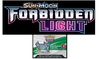 50x FORBIDDEN LIGHT Pokemon Trading Card Game Online Booster Code EMAILED FAST!!
