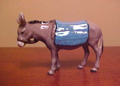 Hagen-Renaker Specialty #3026 DONKEY - Ceramic Nativity Figurine
