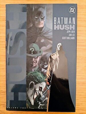 Batman Hush Volume 2 By Jeph Loeb Jim Lee Scott Williams 2003
