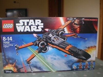 Lego Technic Stars Wars Poes X Wing Fighter New 5000 Picclick Uk