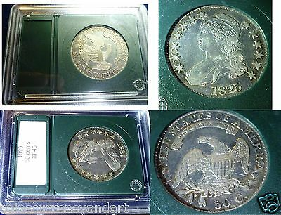 1825 Capped Bust Early  Half Dollar