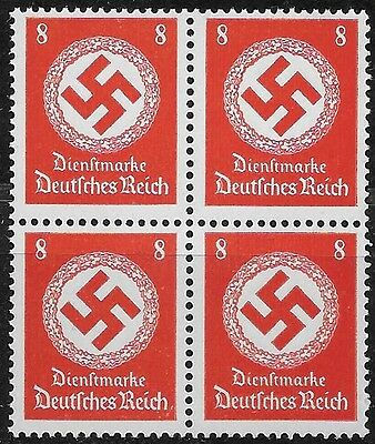 Nazi Germany Third Reich Mi# 170 Official 1942/44 Block of 4 MNH **