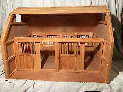 Breyer Traditional Deluxe Barn Ladder 2 Stalls Loft Panels
