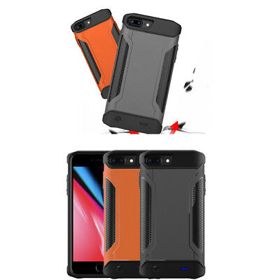 """Shockproof Dustproof Power Bank Battery Charger Case For iPhone 6S 7 8 Plus 5.5"""""""