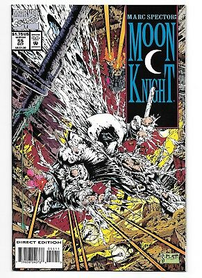 Marc Spector: Moon Knight #55 (1993, Marvel) NM-/NM 1st Stephen Platt Cover