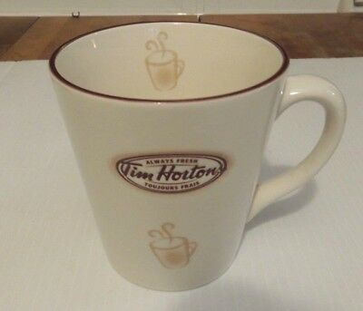 Embossed Tim Hortons Limited Edition Coffee Mug #007 Excellent Condition Cup