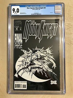 Marc Spector: Moon Knight #60 (Mar 1994, Marvel) Cgc 9.0 Last Issue