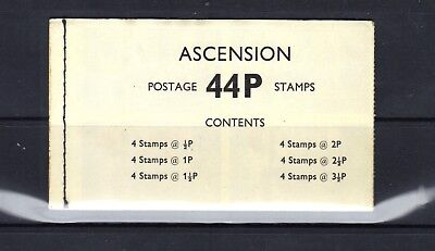 Ascension Island - 1971 Decimal Currency Issue Booklet - Scott Sb2 - Mnh