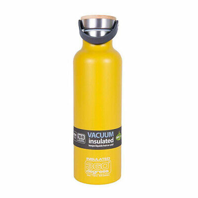 750ML YELLOW 360 Degrees Vacuum Insulated Drink Bottle