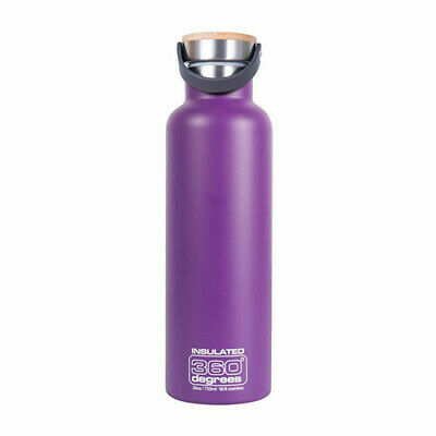 750ML PURPLE 360 Degrees Vacuum Insulated Drink Bottle