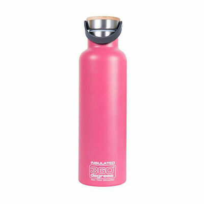 750ML PINK 360 Degrees Vacuum Insulated Drink Bottle