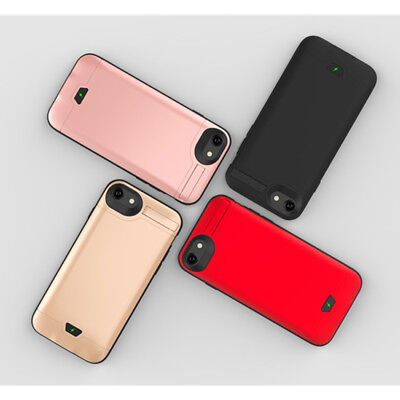 8000mAh High Capacity Power Bank Battery Backup Case Cover For iPhone 6 7 8 Plus