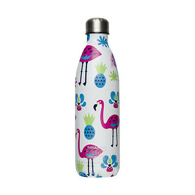 550ML FLAMINGO 360 Degrees SS Insulated Soda Bottle