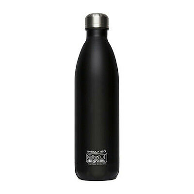 550ML BLACK 360 Degrees SS Insulated Soda Bottle