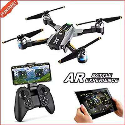 Drone with Camera Live Video FPV RC 720P HD Wi-Fi 2.4GHz 6-Axis Quadcopter Black