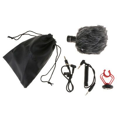 BY-MM1 Video Mic Microphone Condensor for Nikon Canon DSLR Camera Camcorders