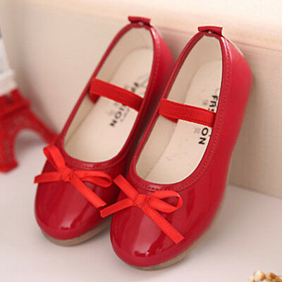 NEW Girls Princess Shoes Children Girl Dance Party Flats Kids Show Shoes Wedding