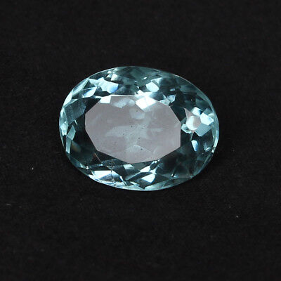 16.95 Ct. Natural Aquamarine Greenish Blue Color Oval Cut Loose Certified Gem