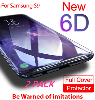 Full Cover Soft Plastic For Samsung S8 S9 + Note 9 8 S7 Edge Screen Protector