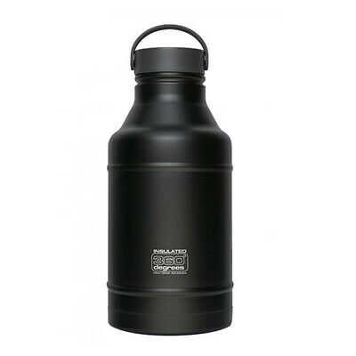 BLACK 360 Degrees Growler Water Bottle 1.8L