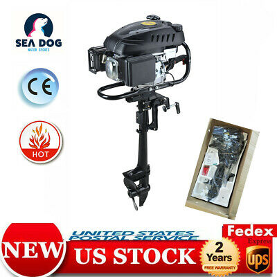 Outboard Motor 2Stroke 2.5HP Superior Engine Inflatable Fishing Boat