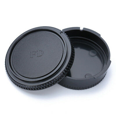 Rear Lens Cap Front Body Cover Protector Camera Accessories For Canon FD Camera