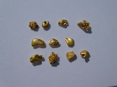 """Gold Nuggets/Speccys 1.02grams From The World Famous """"Golden Triangle"""" VICTORIA"""
