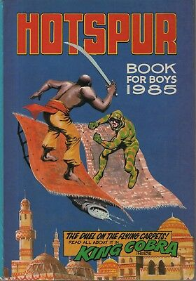 "Annuals - ""hotspur Book For Boys 1985"" -  King Cobra - Unmarked - A Lovely Copy"