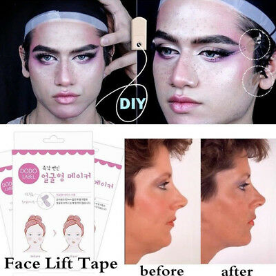 V-Shape Face Label Lift Up Fast Chin Adhesive Tape Makeup Facial Lift Tools HOT