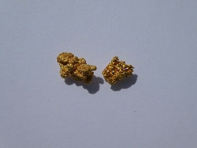 """Gold Nuggets/Speccys 1.245grams From The World Famous """"Golden Triangle"""" VICTORIA"""