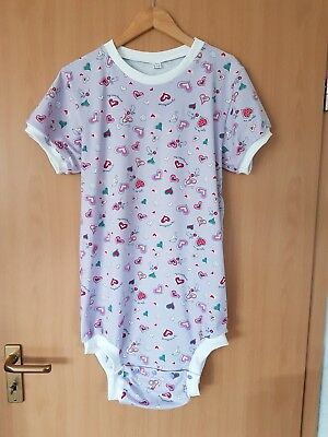 😇 Adult Baby Body Romper Windelbody Gr. L