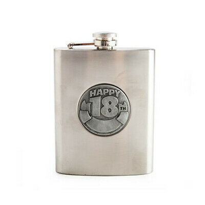 18TH BIRTHDAY Personal Hip Flask