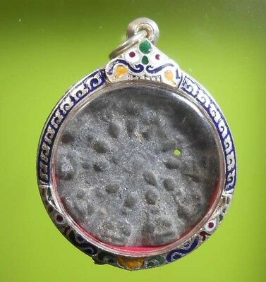 Perfect! Old Thai Buddha Amulet Phra Ayutthaya Hot Pendant Very Nice