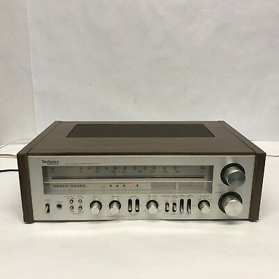 Vintage Technics SA-600 AM FM Stereo Receiver - Tested