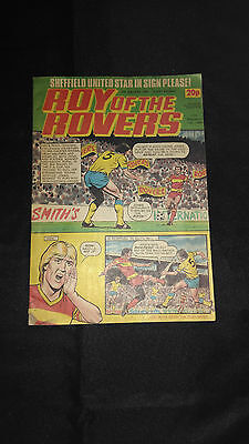Roy of The Rovers Comic 14/01/1984 Vintage Football/Soccer