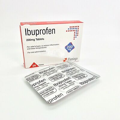 32 Ibuprofen Tablets(as Nurofen) Pain Relief Migraine Rheumatic & Muscular 200mg
