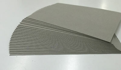 20 x A3 Greyboard Grey Backing Board 1000 micron 1mm  Thick Craft Card Sheets