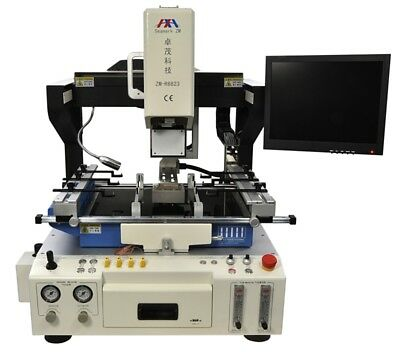 ZM-R6823 Automatic Nitrogen Optical BGA rework station repair for laptop TV PCB