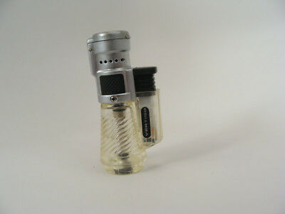 Vertigo Clear Triple Torch Flame Cigar Cigarette Lighter Gas ReFillable
